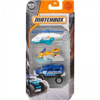 Matchbox 3 Pack - Ice Voyagers