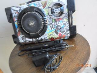 Parlante Con Bluetooth- Marca Kazz Ds08 + Micófono