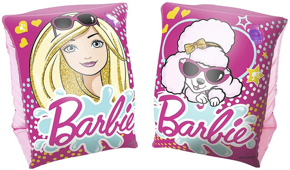 Flotador Brazo Inflable Barbie Bw-93203