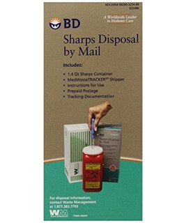 Bd Sharps Disposal By Mail Libre De Preocupaciones Elimin