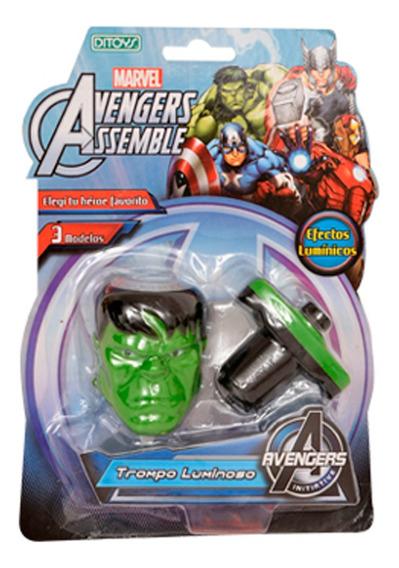 Avengers Trompo Luminoso Hulk