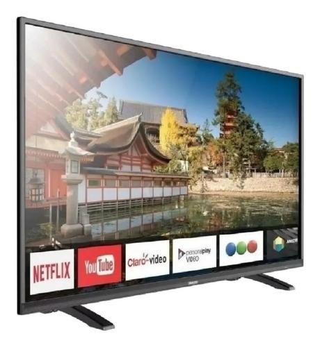 Imagen 1 de 4 de Smart Tv Sanyo 50 Led 50su9550 Uhd 4k Netflix Youtube Cuotas
