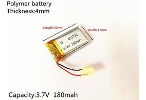 Bateria iPod Mp3 3,7v 180mah Headset 4mm X 17mm X 30mm
