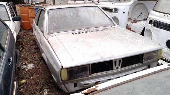 Volkswagen Gol Quadrado Sucata 1986 Nao Vendemos Pecas