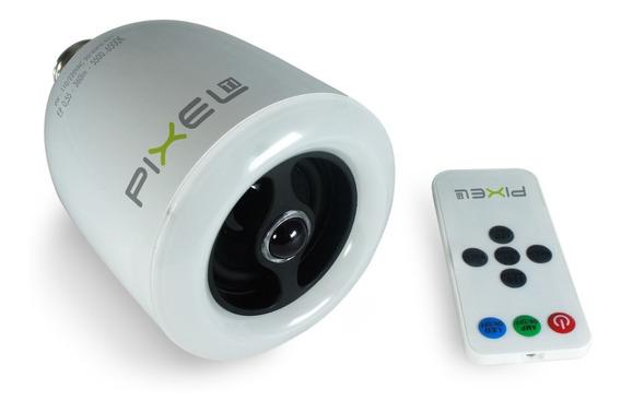 Caixa De Som Bluetooth Com Lâmpada Led - Pixel Ti - A090alb