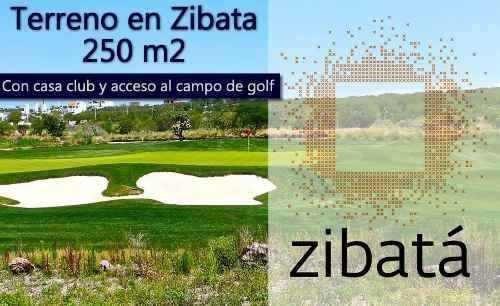 Plano De 250 M2 En Zibata, Casaclub, Acceso Al Campo De Golf