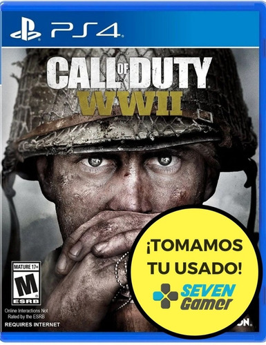 Call Of Duty Ww2 Wwii Ps4 Fisico Nuevo Sellado Original