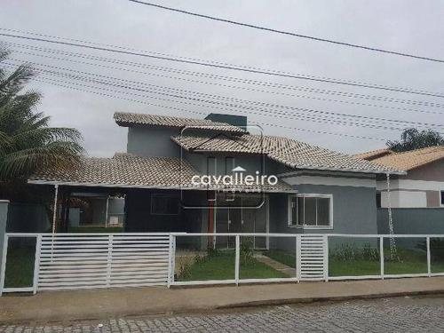 Casa Residencial À Venda, Flamengo, Maricá - Ca1205. - Ca1205