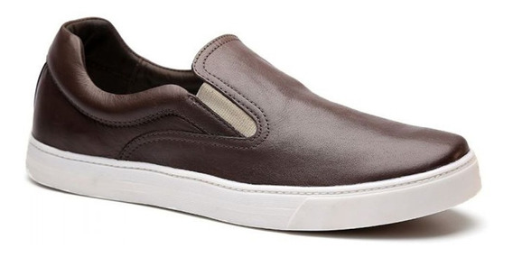 Tênis Iate Masculino Keep Shoes Cor Café Nap