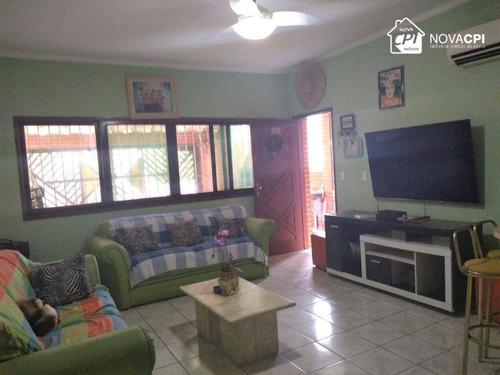 Casa À Venda, 100 M² Por R$ 375.000,00 - Tupi - Praia Grande/sp - Ca1209