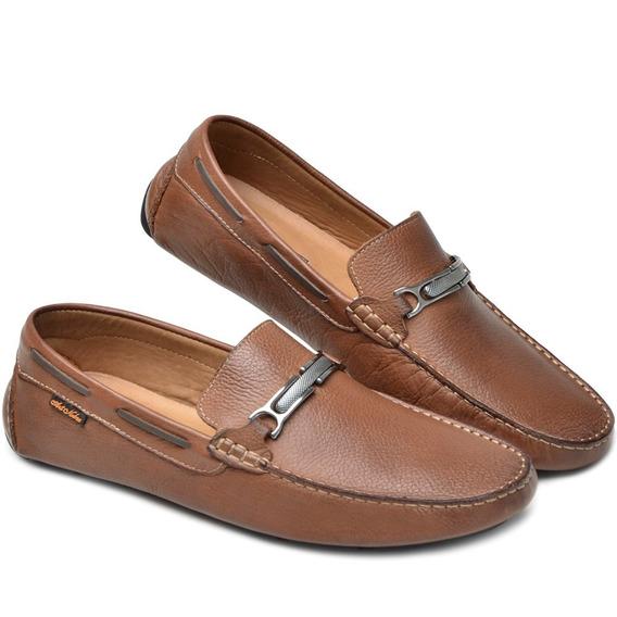 Sapato Mocassim Dockside Masculino 3450 Atron Shoes Flex