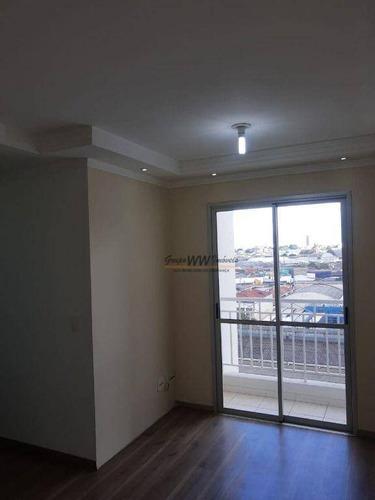 Imagem 1 de 15 de Apartamento À Venda, 48 M² Por R$ 300.000,00 - Parque Novo Mundo - São Paulo/sp - Ap3165