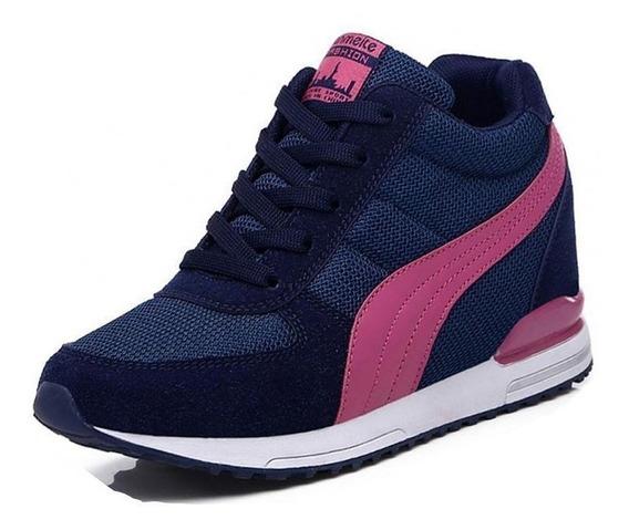 Sneaker Feminino Baoluma 90723 Importado Frete Grátis