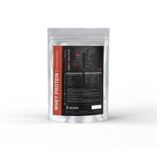 Whey Protein Importado - Puro - 1kg -soldiers Nutrition