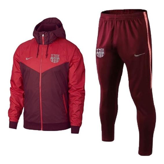 Jaqueta Corta Vento Barça + Calça Masculina Lançamento 2020