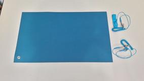 Kit Anti Estático 100 X 60cm(manta+cabo+pulseira) Esd System