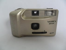 Câmera Máquina Fotográfica Antiga Yashica Brisa Coleção