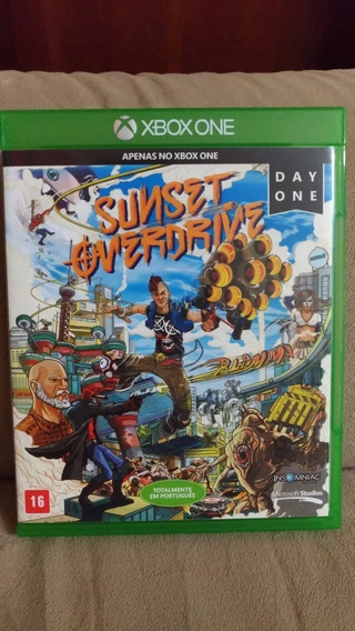 Sunset Overdrive Xbox One Midia Fisica Pronta Entrega