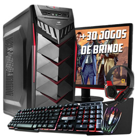 Pc Gamer A46300 8gb Ram Hd 1tb Wifi Fonte Real 500w Monitor