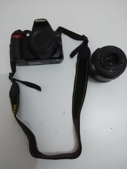 Câmera Nikon D3100 + Lente 18-55mm
