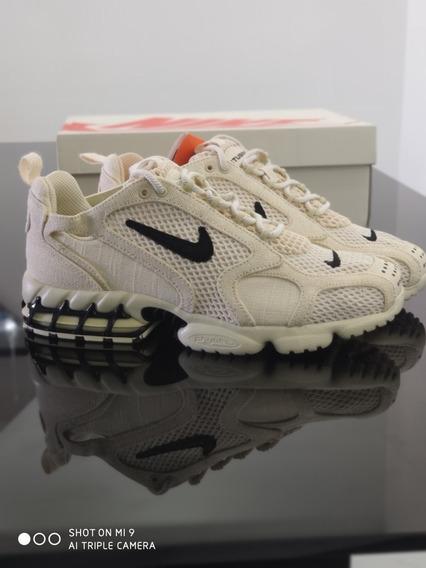 Nike X Stussy Spiridon Cage 2 Fossil Size 41