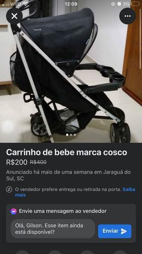 Imagem 1 de 1 de Carrinho De Bebê Xd