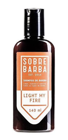 Shampoo De Barba Light My Fire Sobrebarba 140ml