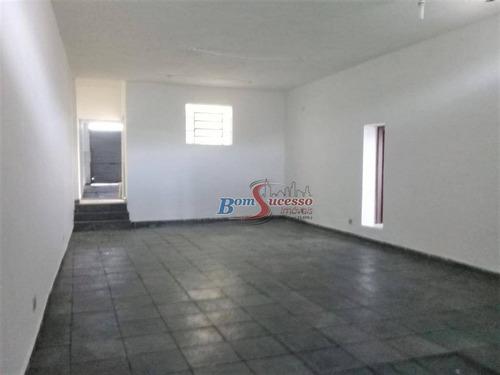 Imagem 1 de 9 de Salão Para Alugar, 175 M² Por R$ 4.500,00/mês - Vila Carrão - São Paulo/sp - Sl0110