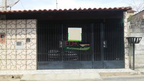 Imagem 1 de 20 de Linda Casa Em Ótima Localização No Bairro Nova Jacareí - Ca6056