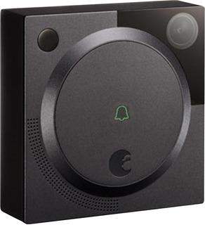 August - Wi-fi Smart Video Doorbell - Dark Gray