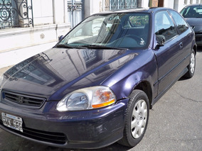 Honda Civic Coupe Hatchback Con Caja Automatica Motor 1.6 Ex