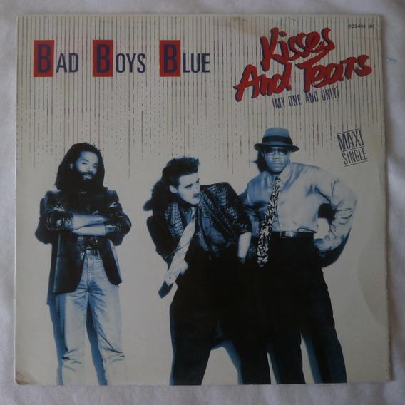 Lp Bad Boys Blue 1986 Kisses And Tears, Single Importado