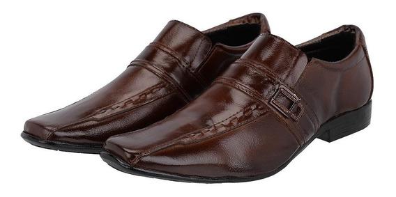 Sapato Social Masculino Em Couro Legítimo Envio Imediato!
