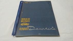 Manual Do Mecânico/ Renault Dauphine