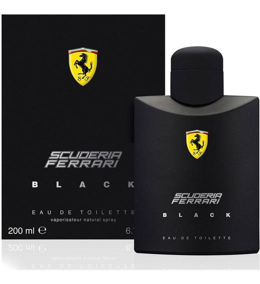 Perfume Scuderia Ferrari Black 200ml