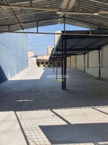 Imagem 1 de 10 de Terreno Para Alugar, 500 M² Por R$ 7.000,00/mês - Santo Antônio - São Caetano Do Sul/sp - Te0093