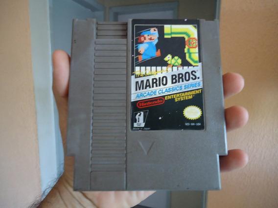 Mario Bros Arcade Classics Series - Cartucho Original Do Nes