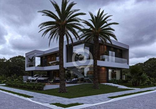 Casa Com 5 Suites À Venda - Horizon Clube Residencial - Estância Velha/rs - Ca1125