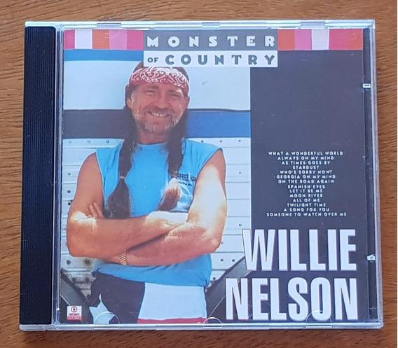 Cd Willie Nelson - Monster Of Country