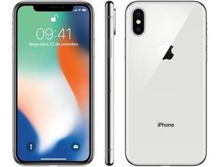 Apple iPhone X 64gb Tela 5.8 Lacrado 01 Ano De Garantia
