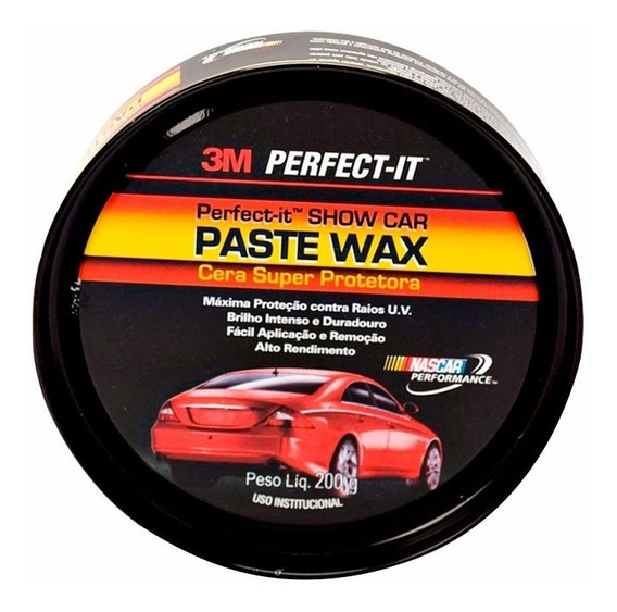 Cera Cristalização 3m Perfect-it Show Car Paste Wax Original