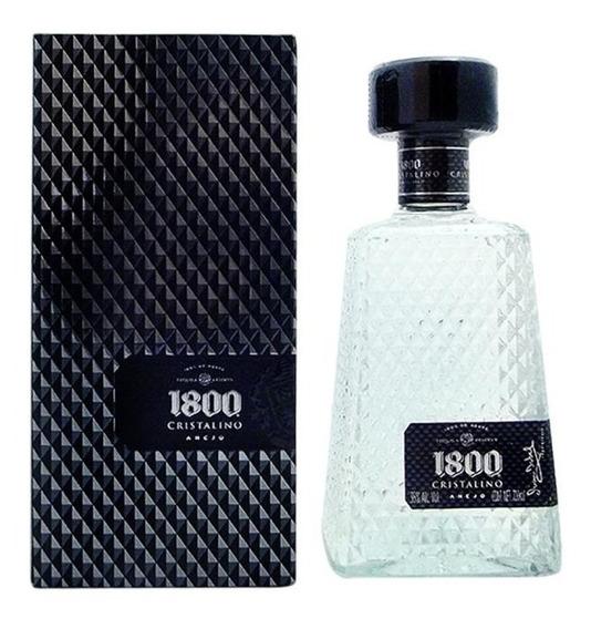 1800 Tequila Cristalino Añejo Botella 700ml