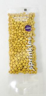 Wilton Sprinkles Lentejuelas Doradas 30gr Confites 710-7090