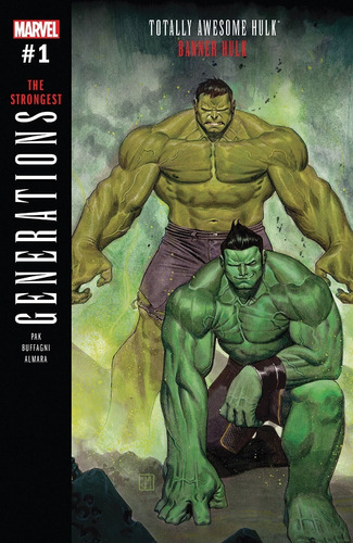Generations Banner Hulk Totally Awesome Hulk #1 (2017) Marve