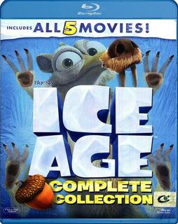 La Era Del Hielo Bluray Latino Ice Age Coleccion X5