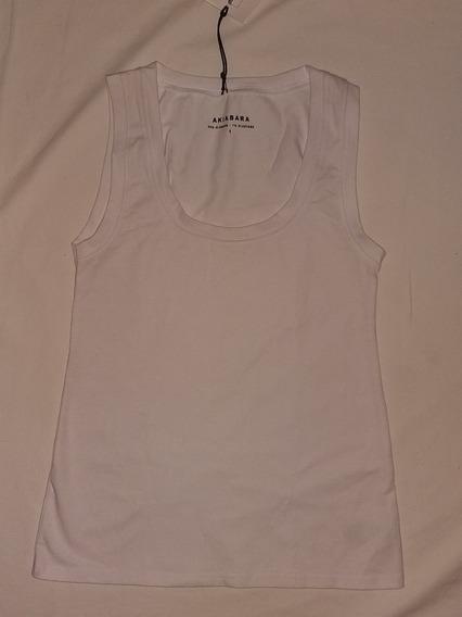 Musculosa Akiabara Blanca Talle 1