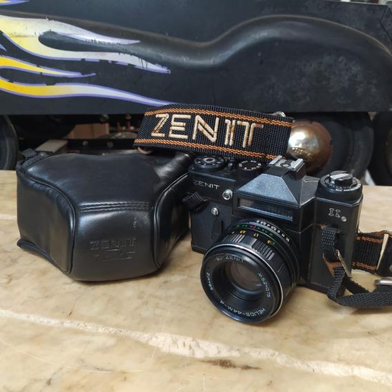 Máquina Fotográfica Zenit Ii Antigo 2 Analógica Câmera 2804