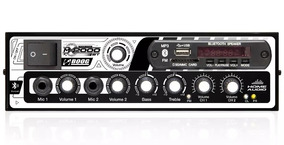 Amplificador Mesa Mixer 300 Watts 2 Canais Som Casa Igreja