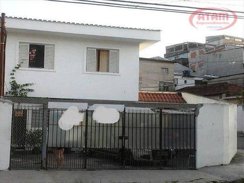 Casa Residencial À Venda, Vila Amélia, São Paulo - Ca0361. - Ca0361