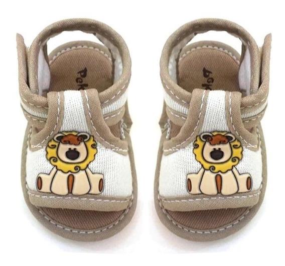 Sandália Masculina Infantil Para Bebê Menino- 6962